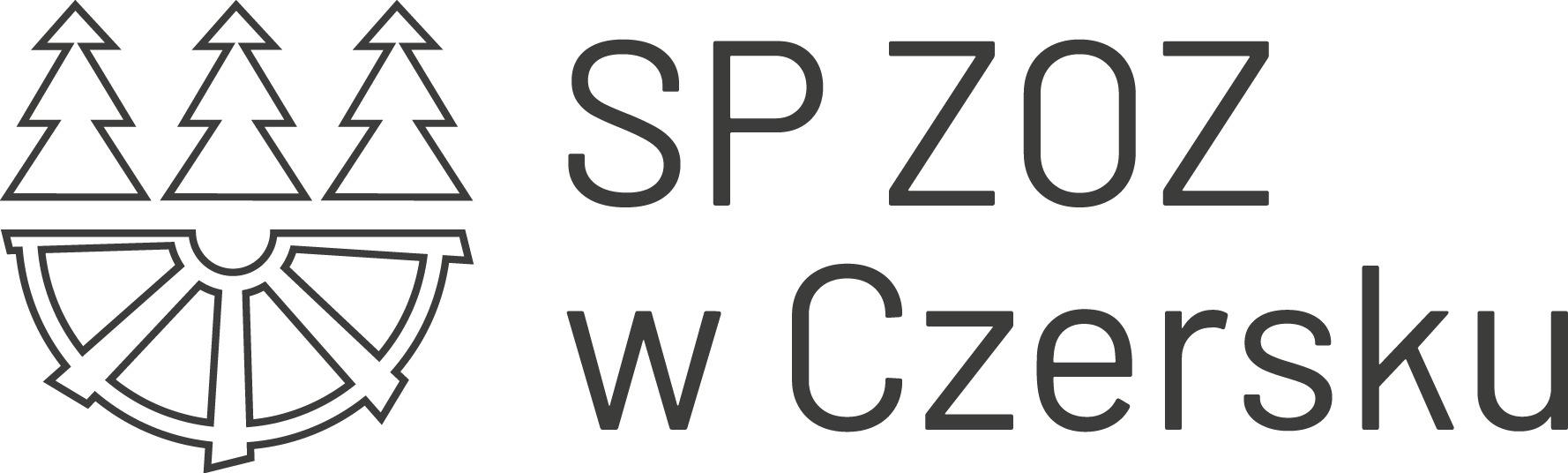 Na zdjęciu widnieje logo SP ZOZ w Czersku